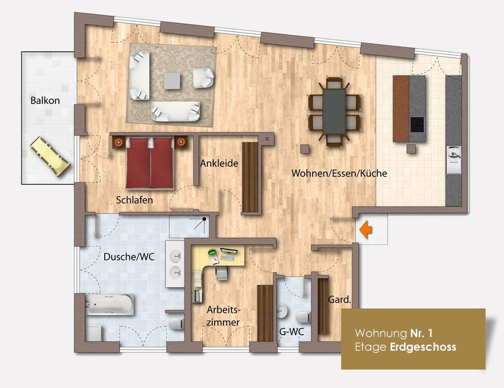 eigentumswohnungen lofthaus mierendorffstra e leipzig. Black Bedroom Furniture Sets. Home Design Ideas
